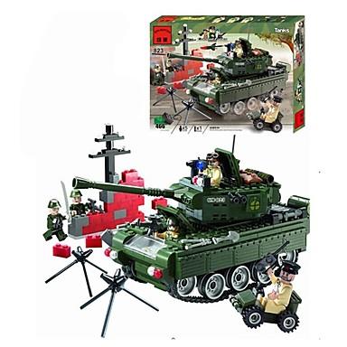 ENLIGHTEN Építőkockák / Építőkocka minifigurák 466 pcs Katonai / Tank Fun & Whimsical Ajándék