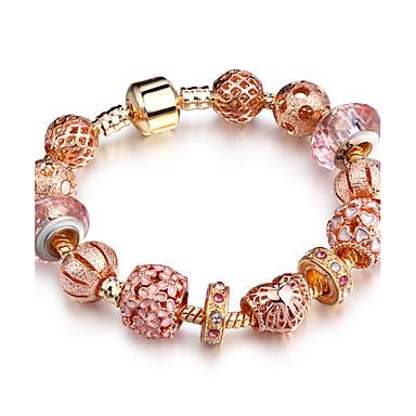 Női Strassz / Rózsa arany bevonattal Imádni való Luxus / Bohém Mások Strand Karkötők - Fémes / Személyre szabott / Luxus Kör / Circle