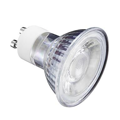 5 W 400 lm GU10 LED szpotlámpák MR16 1 led Meleg fehér Hideg fehér 220 V