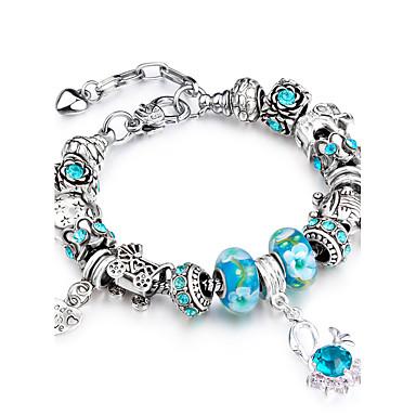 Women's Strand Bracelet - Rhinestone, Rose Gold Plated Personalized, Luxury, Geometric Bracelet Blue For Christmas / Wedding / Party