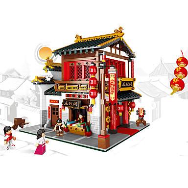 XINGBAO Blocos de Construir 2787 pcs Arquitetura Chinesa Unisexo Dom