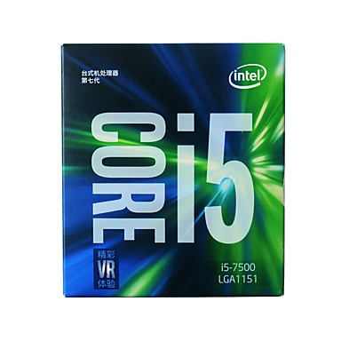 Intel CPU Computer Processor Core i5 7500 LGA151 4 Cores 3.4 LGA 1151