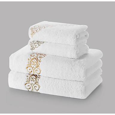 Badehandtuch Set,Stickerei Gute Qualität 100% Baumwolle Handtuch