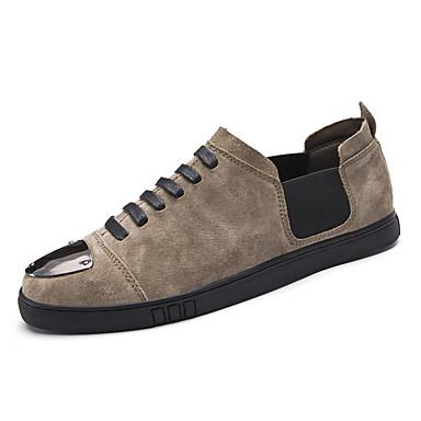 Férfi cipő Fordított bőr Ősz / Tél Kényelmes Tornacipők Fekete / Kék / Khakizöld
