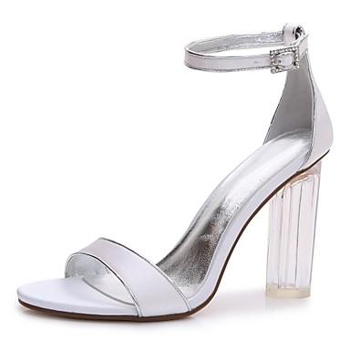 b6a297597b9 cheap Wedding Shoes-Women  039 s Satin Spring   Summer T-Strap