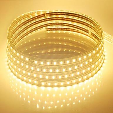 10m 600 LED Blanco Cálido / Blanco / Azul Impermeable 220 V / 5050 SMD / IP65