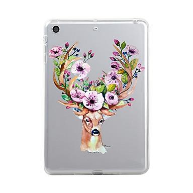 Case For Apple iPad Mini 4 iPad Mini 3/2/1 iPad 4/3/2 iPad Air 2 iPad Air iPad (2017) Transparent Pattern Back Cover Christmas Soft TPU