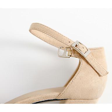 à Boucle Automne Chaussures Noir Talon Femme Chaussures Cheville Talons Tissu Habillé Bout Kaki Bride de Gris 06222127 Bottier Eté pointu w8AxAq6