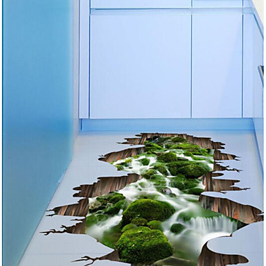 3D Wall Stickers 3D Wall Stickers Decorative Wall Stickers, Plastic Home Decoration Wall Decal Floor