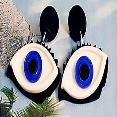 Női Beszúrós fülbevalók / Függők - Személyre szabott / Nyilatkozat Kék Ovális Fülbevaló Kompatibilitás Halloween / Klub