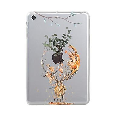 Case For Apple iPad (2017) Transparent / Pattern Back Cover Christmas Soft TPU for iPad Air / iPad 4/3/2 / iPad Mini 3/2/1