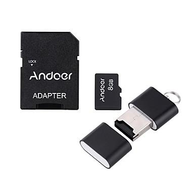 Andoer 8GB Micro SD Card TF Card memory card Class10