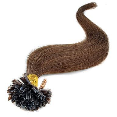 Fusion /U Tip Ludzkich włosów rozszerzeniach Wysoka jakość Klasyczny Damskie Codzienny