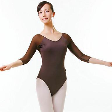 Balett Női Teljesítmény Nejlon Féhosszú Természetes Akrobatatrikó / Egyrészes