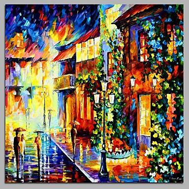 Hang dipinto ad olio dipinta a mano paesaggi moderno for Quadri dipinti a mano paesaggi