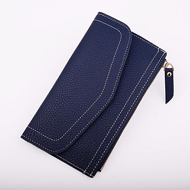 Women's Bags PU Clutch Zipper Military Green / Gray / Fuchsia