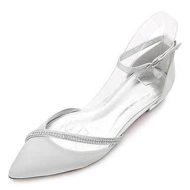 b70b687ef3 cheap Wedding Shoes-Women's Wedding Shoes Flat Heel Pointed Toe /