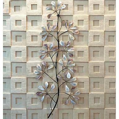 Thème Floral Décoration Murale Le Fer Moderne Art Mural Décoration