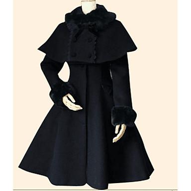 13198077b Princess Winter Sweet Lolita Cape Coat Women s Girls  Coat Cloak ...