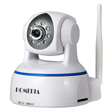 HOMEDIA HM624GA 2.0 MP IP Camera 屋内 with プライム 赤外線カット Max 64GB Supported, but micro sd card/TF card not included in the packageG