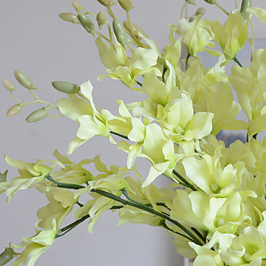 Artificial Flowers 5 Branch Wedding Plants Tabletop Flower