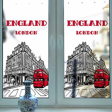 Ablakfólia és matricák Dekoráció Karácsony Art Deco PVC / Βινύλιο Ablak matrica / Nappali