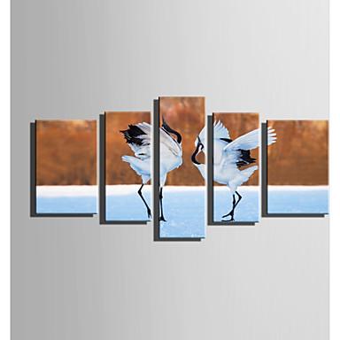 Mintás vászon Öt elem Vászon Függőleges Nyomtatás fali dekoráció For lakberendezési