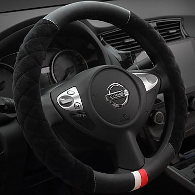 voordelige Auto-interieur accessoires-Auto-stuurhoezen Pluche 38cm Beige / Grijs / Paars Voor Buick Alle jaren