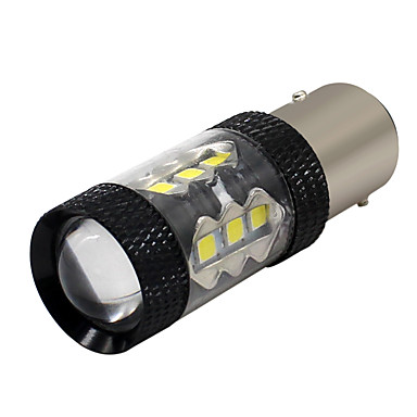 SO.K 2pcs 1157 Car Light Bulbs 7 W SMD 3030 800 lm Tail Light