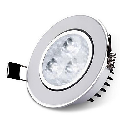 1pc 5 W lm 3 LED Beads LED Recessed Lights Warm White / White 220 V / CE Certified / 100