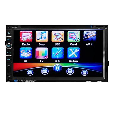 tanie Samochodowy odtwarzacz  DVD-6.95 in 2 DIN Inne Wbudowany Bluetooth / Regulacja siły głosu / Przechowywanie pamięci na Univerzál Wsparcie / Interfejs 3D / Dźwięki / Wielofunkcyjny / Obsługa SD / USB / MP3