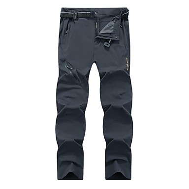 Men's Hiking Pants Outdoor Lightweight, Fast Dry, Breathability Pants / Trousers / Bottoms Hunting / Fishing / Hiking