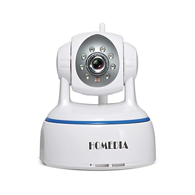 HOMEDIA HM624GA 2.0 MP IP Camera Indoor with Premium IR-suodatin Max 64GB Supported, but micro sd card/TF card not included in the package