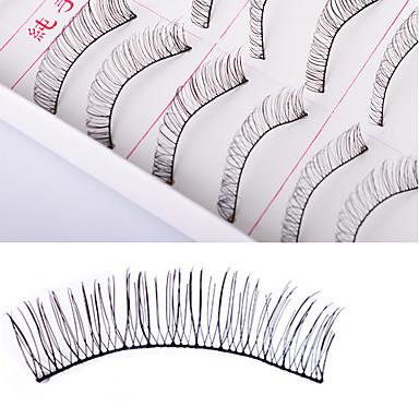 10 pcs lash False Eyelashes DIY Makeup Women / Lady / Eye Long Lasting Natural Smooth Cosmetic Grooming Supplies