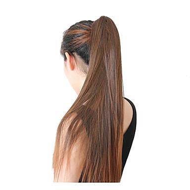 Emberi haj Csipke eleje Paróka Brazil haj Egyenes 130% Sűrűség 100% kézi csomózású Természetes hajszálvonal Ombre haj Közepes Hosszú Női