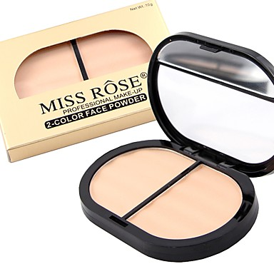 3 colors Pressed Powder Dry / Matte / Combination Pressed powder Face
