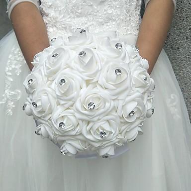 Esküvői virágok Csokrok Esküvő Poliészter Hab 9,84
