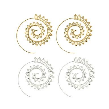 Női Virág Francia kapcsos fülbevalók - Nyilatkozat / Divat Arany / Ezüst Fülbevaló Kompatibilitás Napi / Alkalmi