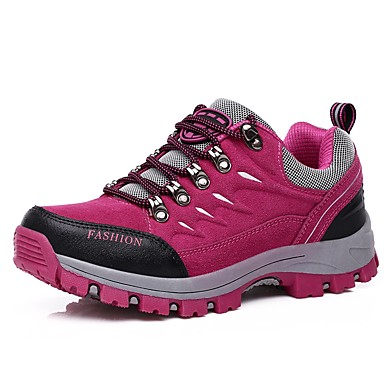 LEIBINDI Women's Hiking Shoes / Casual Shoes / Mountaineer Shoes Velvet / Rubber Hiking / Climbing / Outdoor Anti-Slip, Wearable, Reduces