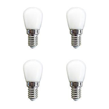 cheap LED Globe Bulbs-4pcs 2 W LED Globe Bulbs 160 lm E14 26 LED Beads SMD 2835 Warm White White 220-240 V