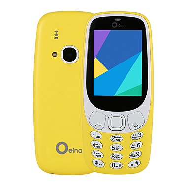 Oeina XP3310 2.4 hüvelyk Mobiltelefon ( 32 MB + Egyéb 0.8 MP Más 1000 mAh )