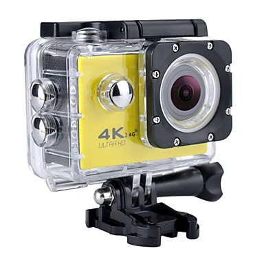 cheap Sports Action Cameras-SJ7000 / H9K Sports Action Camera 12 mp Gopro 2592 x 1944 Pixel / 3264 x 2448 Pixel / 2048 x 1536 Pixel Waterproof / WiFi / 4K 60fps / 30fps / 24fps No +1 / -1 / +2 2 inch CMOS 32 GB H.264 Single