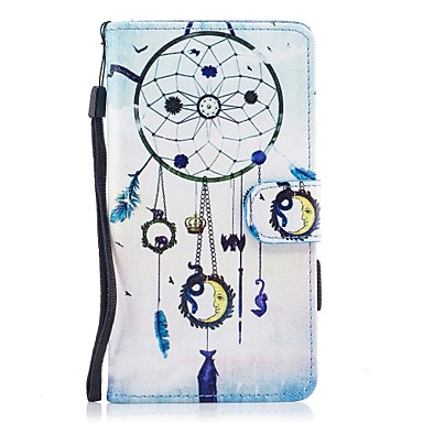 Case For Huawei P10 Lite Card Holder Wallet with Stand Flip Magnetic Pattern Full Body Cases Dream Catcher Hard PU Leather for P10 Lite