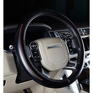 abordables Accessoires Intérieur de Voiture-Protège Volant Cuir véritable 38cm Violet / Café / Noir / Rouge Pour Land Rover Discovery / Freelander / Evoque Toutes les Années