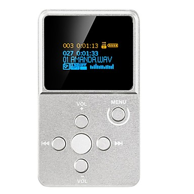 Hi-fiPlayerNem 3,5 mm Jack dugó Micro SD Card 64 GBdigital music playerGomb