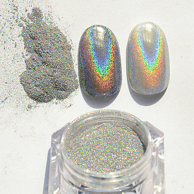 Powder Classic Nail Art Design Daily