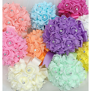 Wedding Flowers Bouquets Wedding Foam 8.66