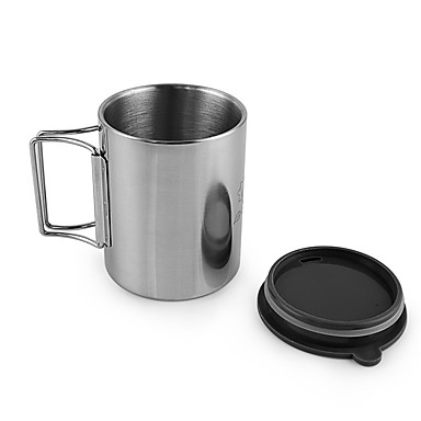 Cup Coffee and Tea Stainless Steel Outdoor for Camping / Hiking / Picnic
