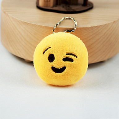 Keychain Jewelry Yellow Other Circular Adorable Unisex
