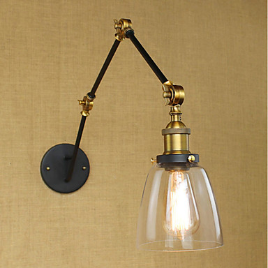 Simple / Vintage / Retro Wall Lamps & Sconces Metal Wall Light 110-120V / 220-240V 40 W / E26 / E27